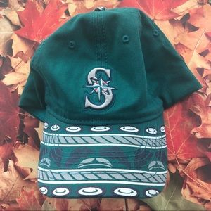 Seattle Mariners baseball cap blue grey one size